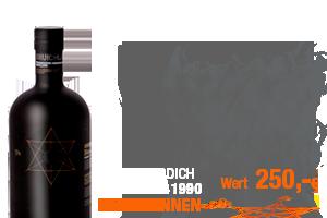 Gewinne einen Bruichladdich Black Art 1990 im Wert von 250 Euro