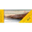 Geschenkgutschein 80 EUR - Karte im Umschlag