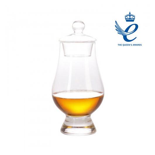 Glencairn Glas mit Deckel und Prämierung