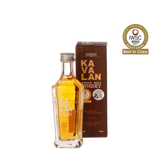 Kavalan Whisky Miniatur, prämiert