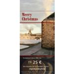 Weihnachts-Gutschein Whisky zum Drucken