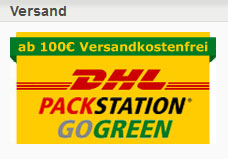 ab 100 Euro Versandkostenfrei!